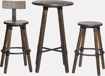 Tabourets de bar et Tables - Collection Kono